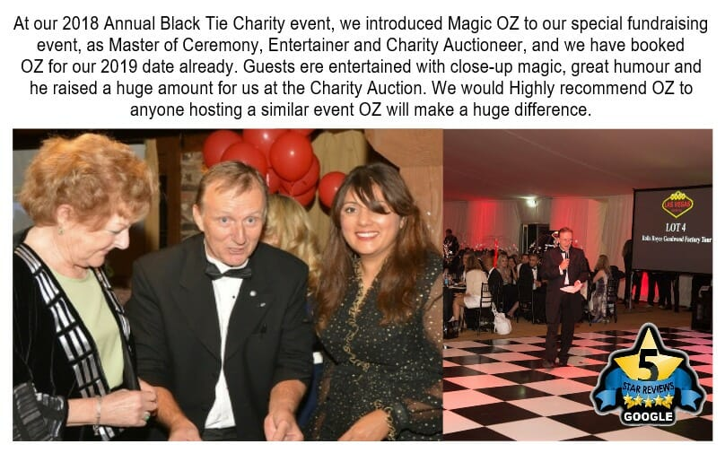 The fun Auctioneer Charity auctioneer OZ